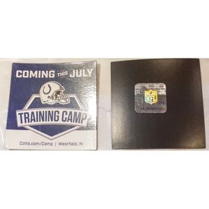2 NWT Indianapolis Colts NFL Training Camp Magnets